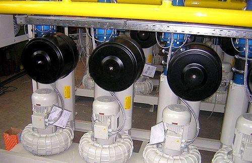Gasdruckerhöhungsanlagen